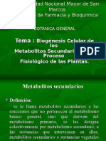metabolitos secundarios