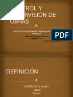 Presentacion Control y Supervision de Obras