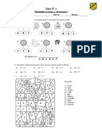 guia N° 1 multiplicacion y división