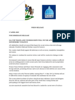 Press Release-durban is Open for Business (1)