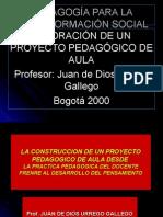 Elaboracic3b3n Del Proyecto Pedagc3b3gico de Aula