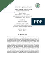 ANALISIS ELEMENTAL CUALITATIVO DE  COMPUESTOS ORGANICOS