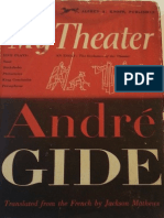 Gide, André - My Theater (Knopf, 1952)