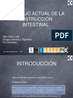2014-16. Obstruccion Intestinal. a.sainz