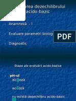 compensare echilibru acidobazic