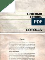 Buku Manual Toyota Corolla AE92 (1)