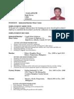 Papa Resume