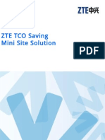 ZTE TCO Saving Mini Site Solution for CMPak
