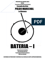 Programa Bateria Formacion basica 1