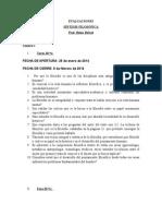 Evaluaciones de Síntesis Filosófica-LAC 2014