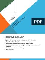 Lowe's case study