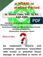 2. Asmin Lubis-Role NSAID in Perioperative Period 16102014