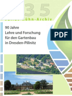 90 Jahre Lehre und Forschung für den Gartenbau in Dresden-Pillnitz