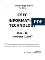 2014 Guide to Csec Information Technology 1 2