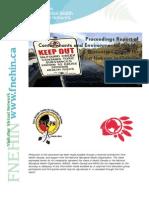 Proceedings Report of Contaminants and Environmental Health