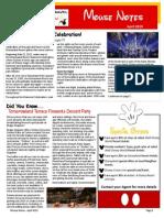 homt newsletter april 2015