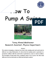 How to pump a swing