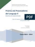 DirectricesImplementacion PL 2 2013-2014
