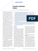 Cognición social y demencia mujeres