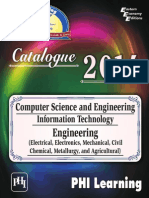 PHI LEARNING Computer Science IT Engineering Electrical Electronics Mechanical Civil Chemical Metallurgy and Agricultural Catalogue 2014