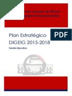 Plan Estratégico 2015-2018 Dirección General de Ética e Integridad Gubernamental (DIGEIG)