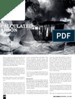 A Calculated Arson