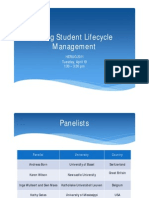 Day1 - Using Student Lifecycle Management