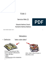 Tema03_1 - Servicios Web (Metadatos, XML, DOM)