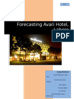 Forecasting Avari Hotel, Lahore DISC-230 Group5 (1)