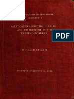 Relations of Aboriginal culture and environment in the Lesser Antilles