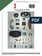 Microsystem PCD-2603 - Vista Explodida