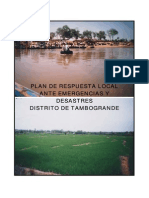 Plan Resp Local Emerg Tambogrande Piura