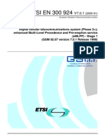 GSM 02.67 eMLPP