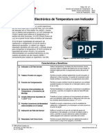 Manual Controlador de Temperatura JOHNSON CONTROLS a419