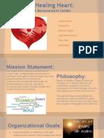 osp project- a healing heart