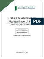 Trabajo de Acueducto y Alcantarillado 1A Parte