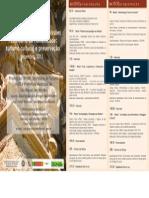 Folder Seminário Missões 2013