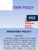 Monteary Policy