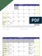 2014 skills calendar