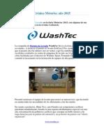 Tuneles de Lavado WashTec en MotorTec 2015