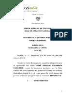 Sentencia Sl 8002(38381) 14 Prueba de Alcoholemia