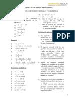 Hoja de Trabajo 2_Ec. e Inec. Lineales y Cuad
