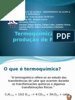 Termoquímica e a produção do PVC