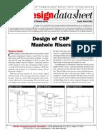 Design of CSP Manhole Risers