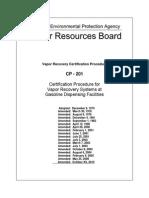 Certification Procedure 201