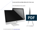 Service Manual IMac 27-Inch, Late 2012 and Late 2013 and IMac Retina 5K, 27-Inch, Late