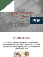 451 - kolcabas theory of comfort