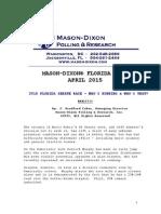 FL-Sen Mason-Dixon (April 2015)