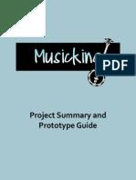 Musicking Final Summary