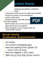 Guidance Scheduling Presentation 14-15 All Grade Levels